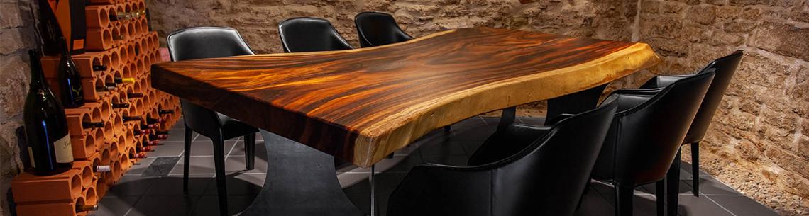 Tisch aus Esche Lieblingsholz Gourmet